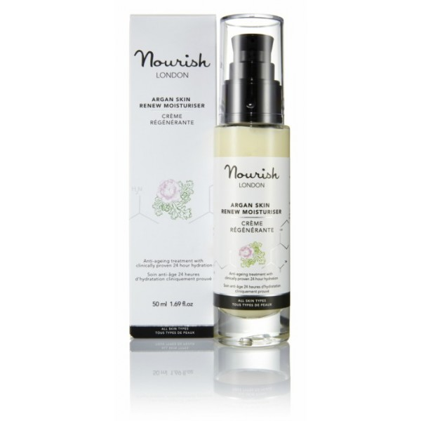 Nourish Crema Hidratante Argan Antiedad 50ml.