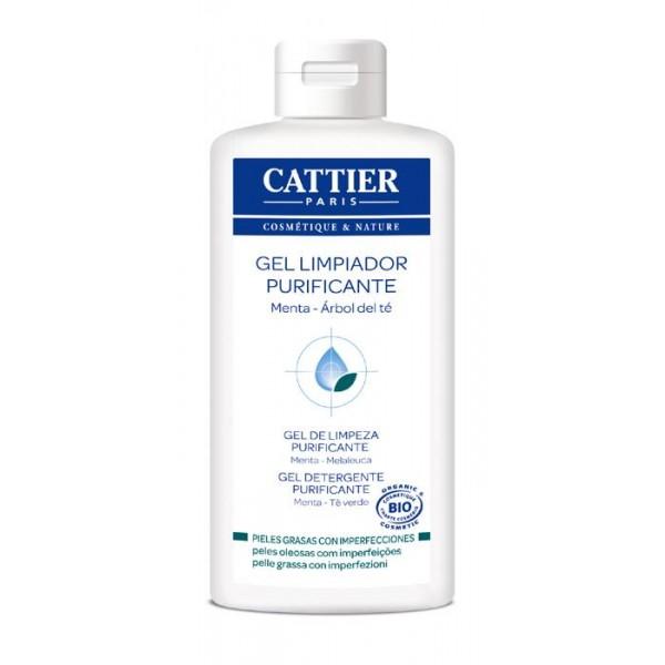 Cattier Gel Limpiador Purificante (con Arbol de Te) 200ml.