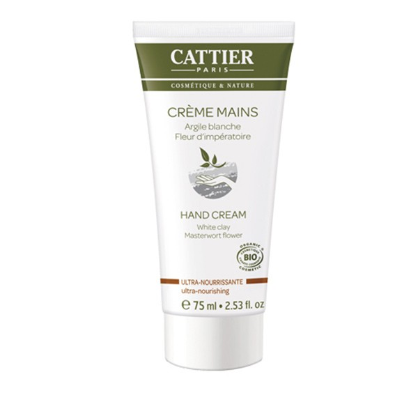 Crema De Manos Ultra Nutritiva de Cattier 75ml