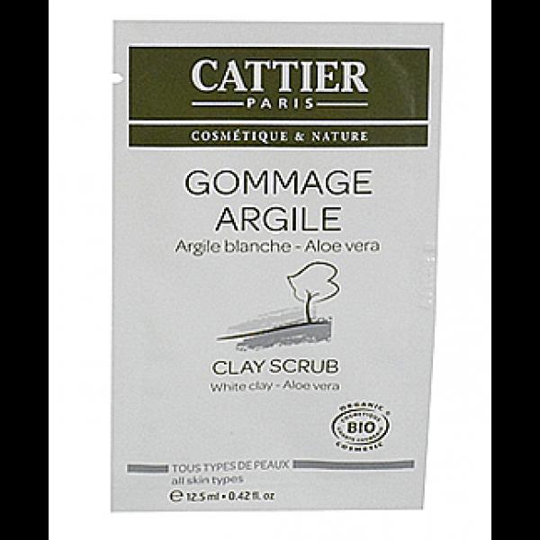 Cattier Exfoliante Facial Arcilla Blanca monodosis 12,5ml.