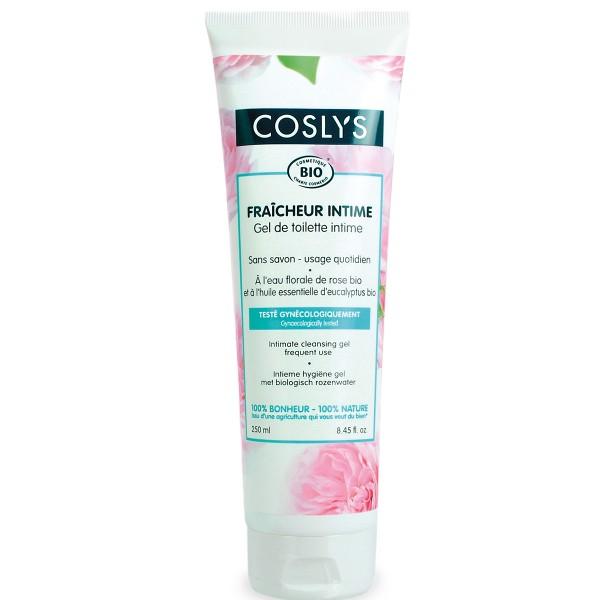 Coslys Gel íntimo con agua floral de Rosas biológica 250ml.