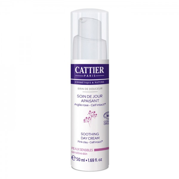 Crema Día Calmante de Cattier 50ml.