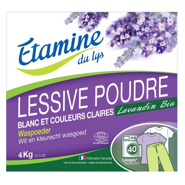 Etamine Du Lys Detergente en Polvo 2KGS