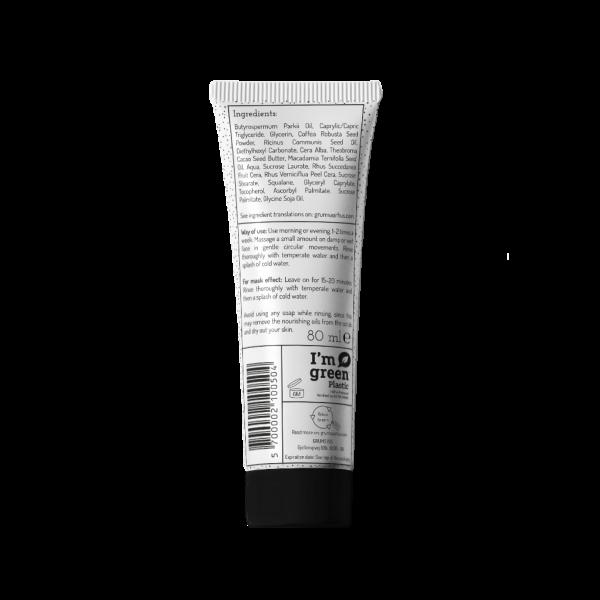 Exfoliante facial de café de GRUMS 80ml