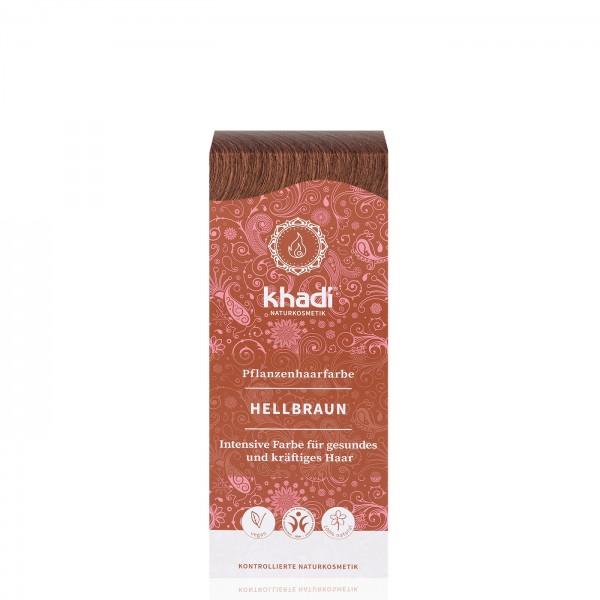 Khadi Tinte Vegetal Henna Castaño Claro 100gr.
