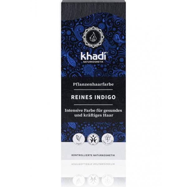 Khadi Tinte Vegetal Índigo Puro 100% Herbal 100gr.