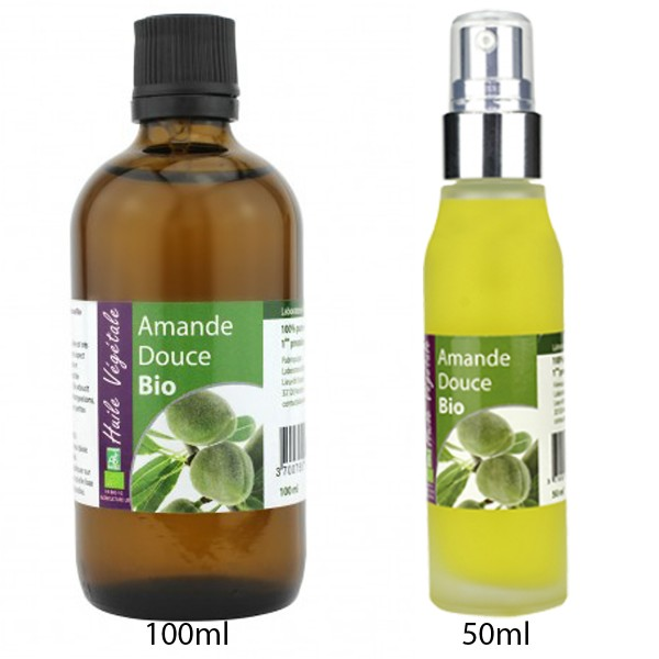 Aceite de Almendras Dulces Bio de Laboratoire Altho (50ml/100ml)