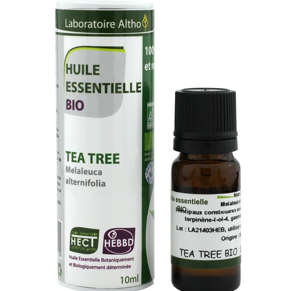 Aceite esencial árbol de té de Laboratoire Altho 10ml.