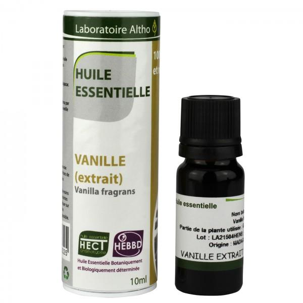 Aceite esencial de extracto de vainilla BIO 10ml Laboratoire Altho