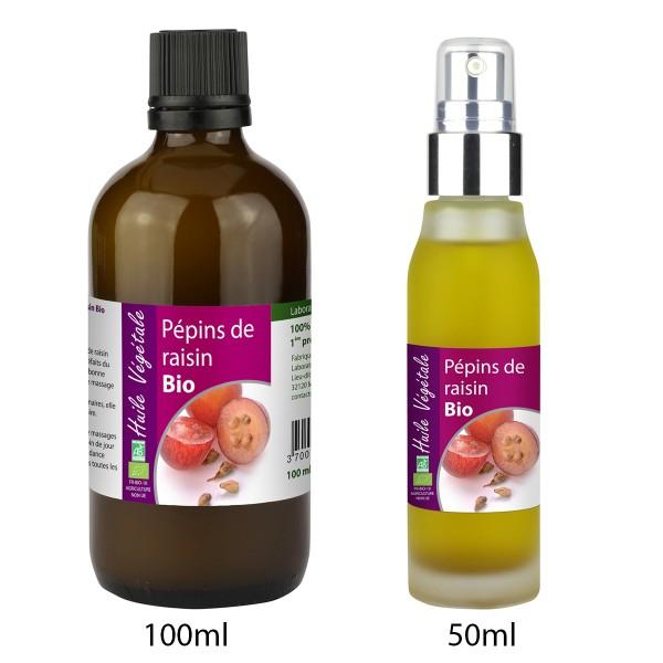 Aceite de Semilla de Uva bio de Laboratoire Altho (50ml/100ml)
