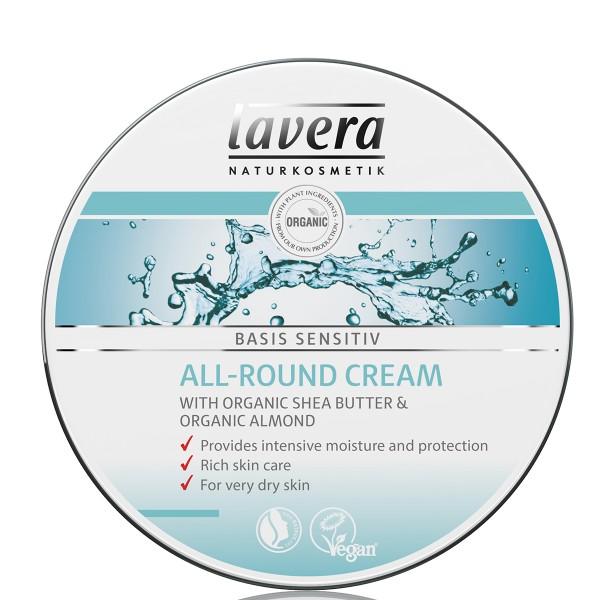 Lavera Crema Cara & Cuerpo Basis Sensitiv 150ml