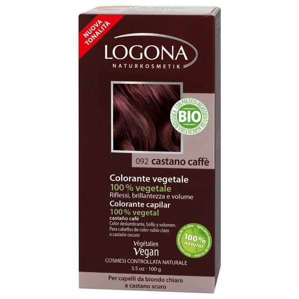 Logona Colorante Natural Povlo Marron Café 100gr.