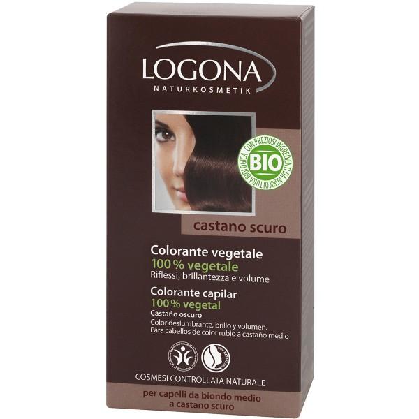 Logona Colorante en Polvo Castaño Oscuro 090