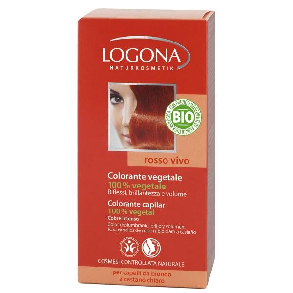 Logona Colorante en Polvo Cobre Intenso (Flame Red) 040