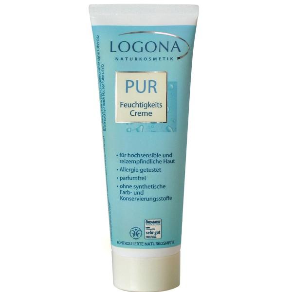 "Logona Crema Hidratante ""Free"" Sin Perfume 50ml"