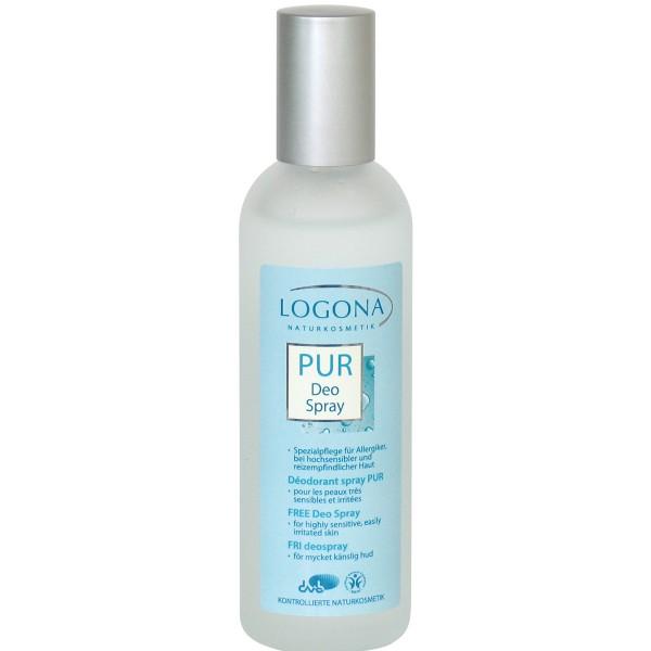 "Logona ""Free"" Desodorante Spray Sin Perfume 100ml"
