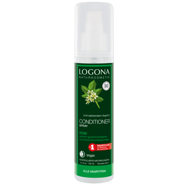 Acondicionador spray  sin aclarado de Logona 150ml.