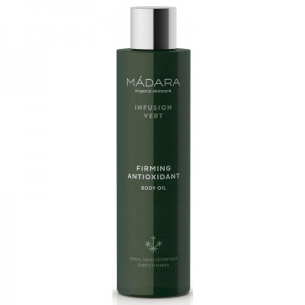 Aceite corporal reafirmante antioxidante Infusion Vert Mádara 200ml