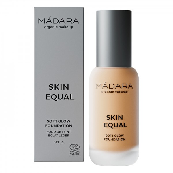 Maquillaje Base SPF 15 Skin Equal de Mádara SPF 15,  30ml - Sand #40