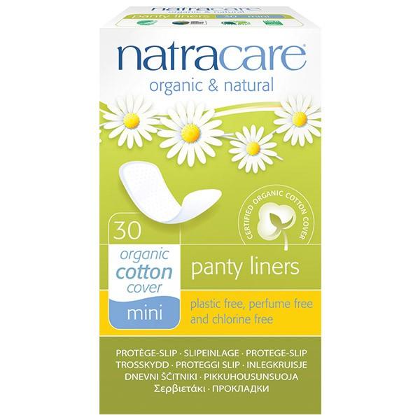 Natracare Protegeslip Natural Mini 30 Unidades