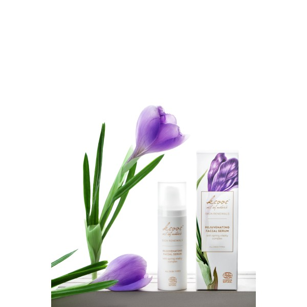 Sérum rejuvenecedor con Skin Vitality Complex de Kivvi 30ml