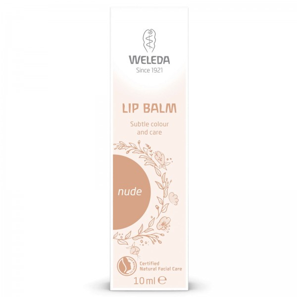 OFERTA 15% Bálsamo Labial con Color de Weleda 10ml. (varios colores)-Nude