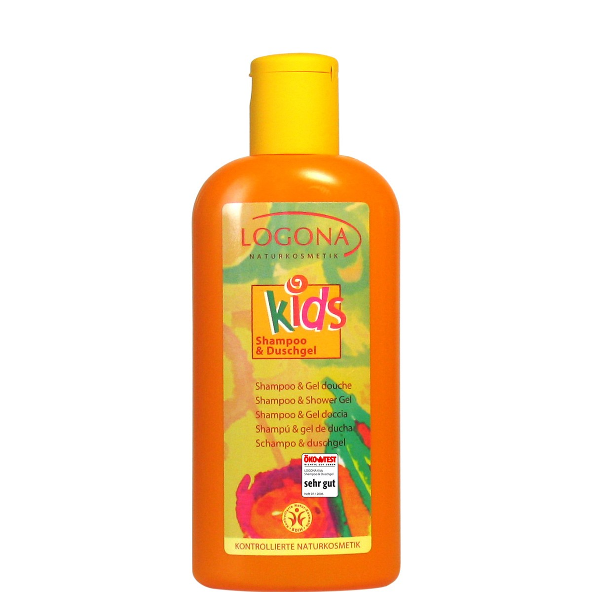 Logona Champú & Gel de Ducha KIDS 200ml