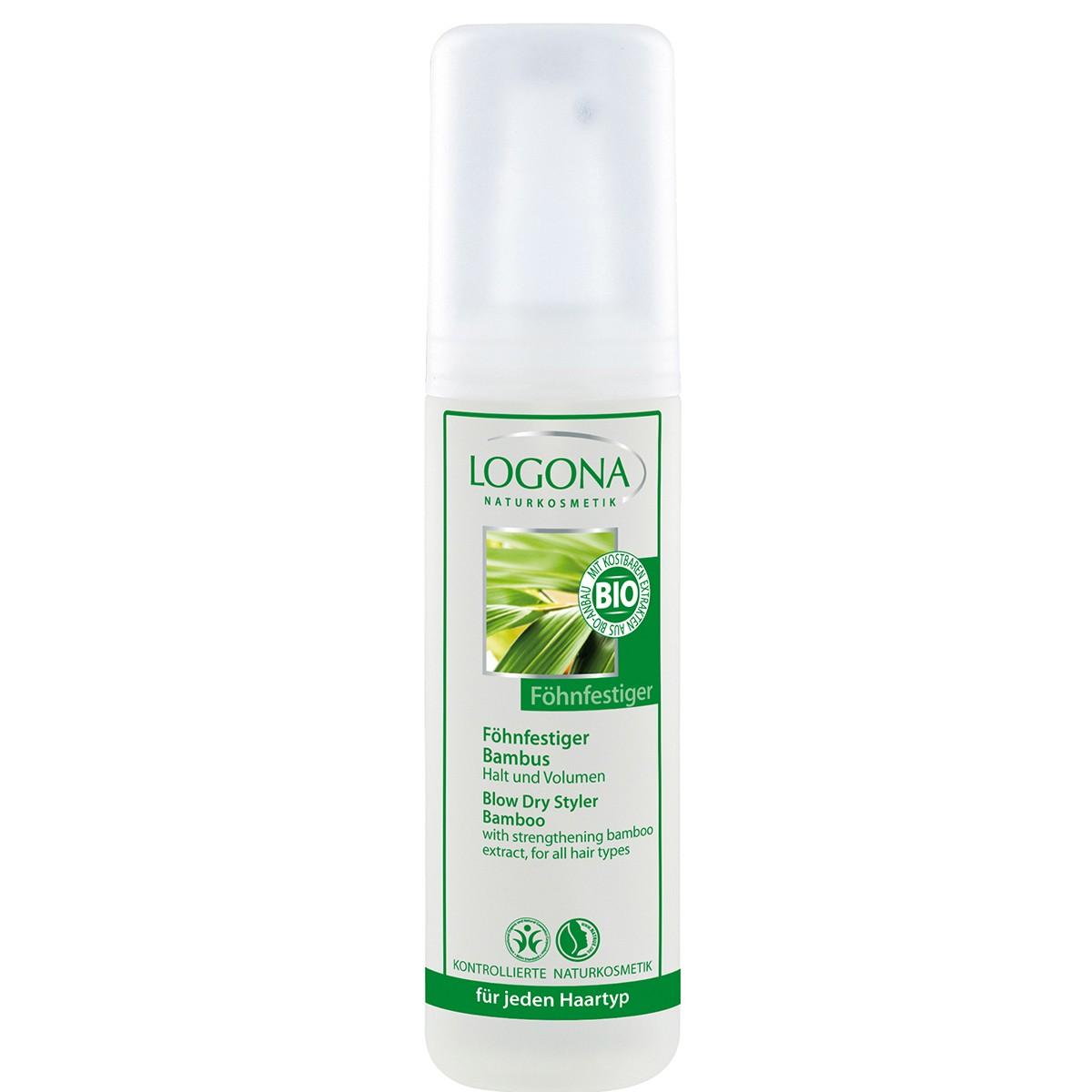 Logona Spray Secador Bambú 150ml