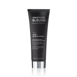 Mascarilla Negra 2 en 1 Annemarie Borlind 75ml