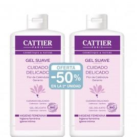 Pack Gel Íntimo Cattier-50% en la segunda Unidad
