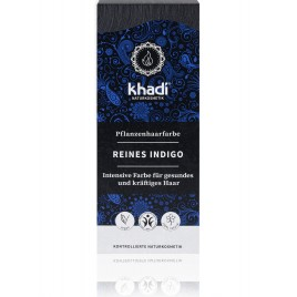 Khadi Tinte Vegetal Índigo Puro 100% Herbal 100gr.