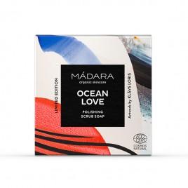 OCEAN LOVE Jabón Exfoliante ed. limitada de MÁDARA 90g