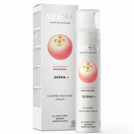Crema hidratante calmante Derma+ de Mossa 50ml