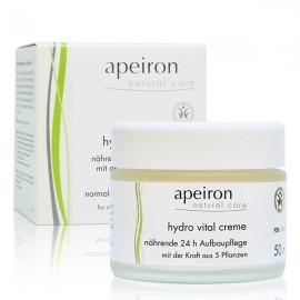 Apeiron Crema Hidratante Vital 24 horas 50ml