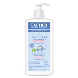 Cattier Champú & Gel de Baño Bebé 500ml
