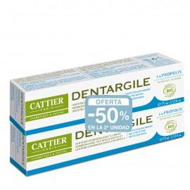 Pack Dentífricos Propoleo Cattier - Segunda Und 50% de descuento