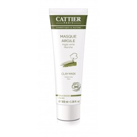 Cattier Mascarilla Purificante Arcilla Verde 100ml
