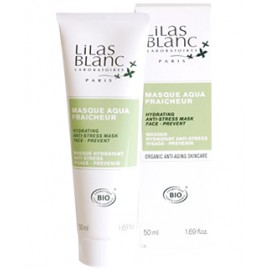 Lilas Blancs Mascarilla Facial Anti Estrés & Hidratante 50ml.