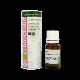 Composición aceites esenciales Dulce Noche Bio Altho 10ml
