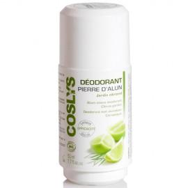 Coslys Desodorante Cítricos Roll-On con Potasium Alum 50ml.