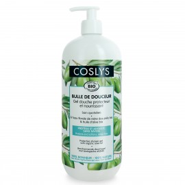 Coslys Gel de ducha Protector con Aceite de Oliva 1 Litro
