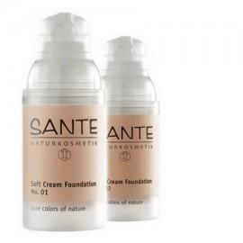 "Sante Maquillaje Fluido ""Porcellan"" 01, 30ml"