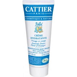 Cattier Crema Hidratante Cara & Cuerpo Bebé 75ml
