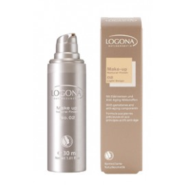 "Logona Maquillaje Fluido ""Light Beige 02"" 30ml"