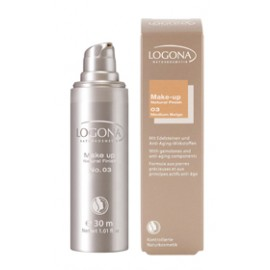 "Logona Maquillaje Fluido ""Medium Beige 03"" 30ml"