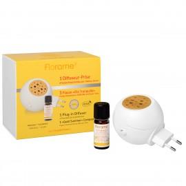 Florame Difusor Eléctrico con Citronella (Difusor Eléctrico + Aceite Esencial 10ml)