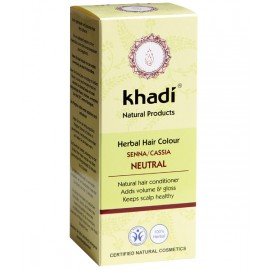Khadi Tinte Vegetal Cassia-Neutra 100% Herbal 100gr.