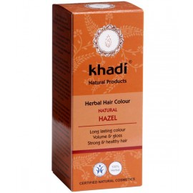 Khadi Tinte Vegetal Castaño Avellana 100% Herbal 100gr.