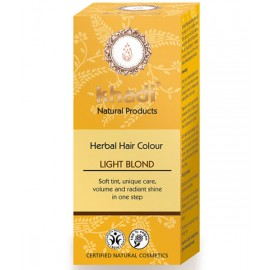 Khadi Tinte Vegetal Rubio Claro 100% Herbal 100gr.