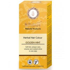 Khadi Tinte Vegetal Toque Dorado 100% Herbal 100gr.